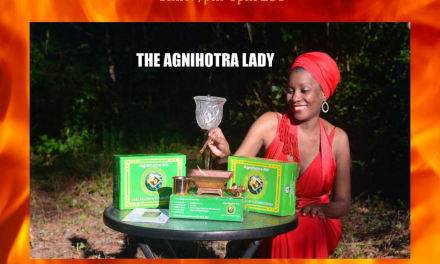 The Agnihotra Lady Purification for 2020